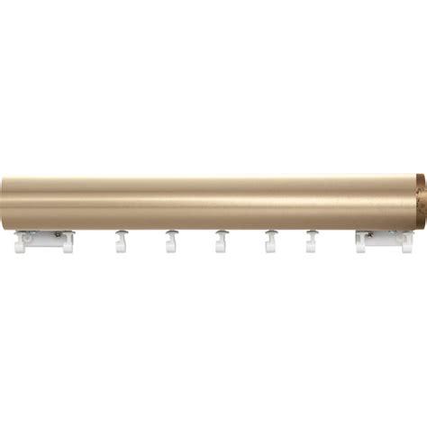 kirsch curtain rods 2 quot estate ultra metal set with ripplefold williams