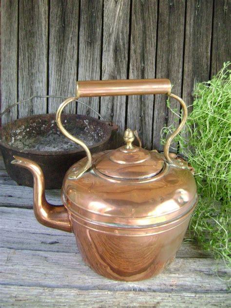 retro tea kettle vintage copper tea kettle antique pot ebay 1949