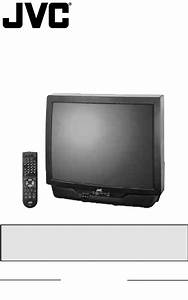 Jvc Crt Television Av