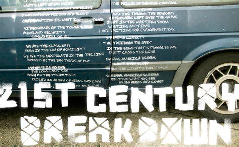 greendayvideoscom st century breakdown artwork