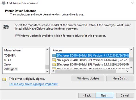 All brands and logos are property of their owners. Changing your Zebra ZD410 printer driver on Windows - Lightspeed Retail