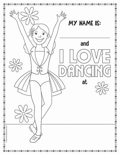 Coloring Dance Printable Pages Dancing Sheets Ballet