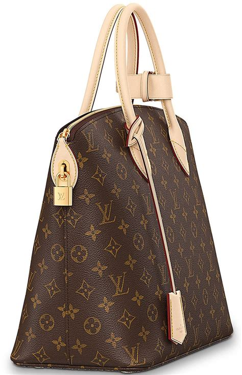 louis vuitton monogram canvas lockit bag reinvented