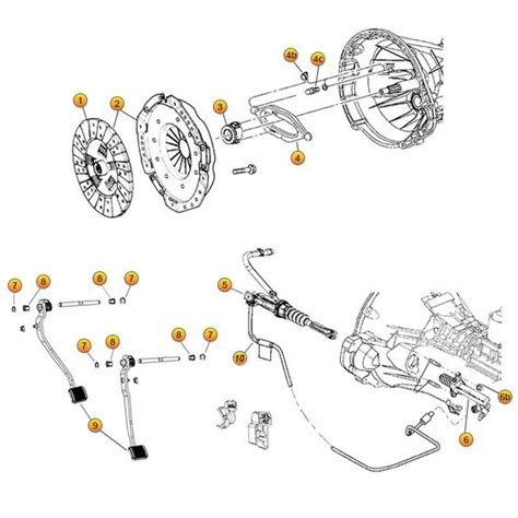 Jeep Exploded Diagram by Interactive Diagram Jeep Clutch Parts For Wrangler Jk