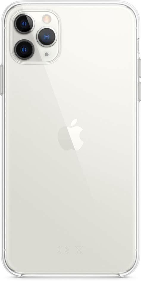 apple iphone pro max clear case genomskinligt skal