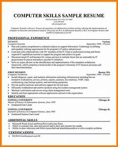 10 technical skill examples for a resume g unitrecors With sample of technical skills for resume