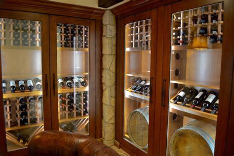 chic ideas   stylish residential custom wine cellar design