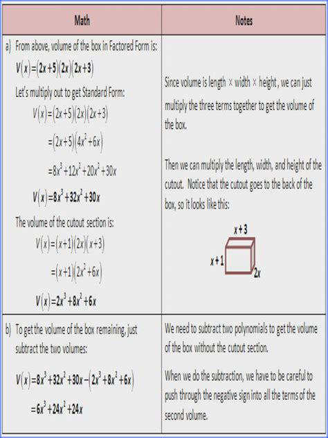 Operations With Polynomials Worksheet Mychaumecom