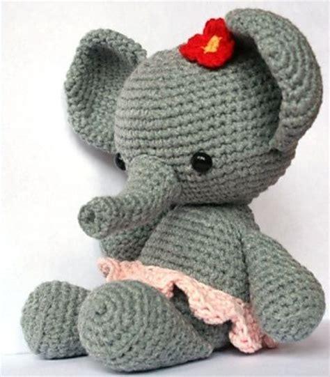 crochet elephant ravelry elephant roosje pattern by christel krukkert amigurumi pinterest ravelry