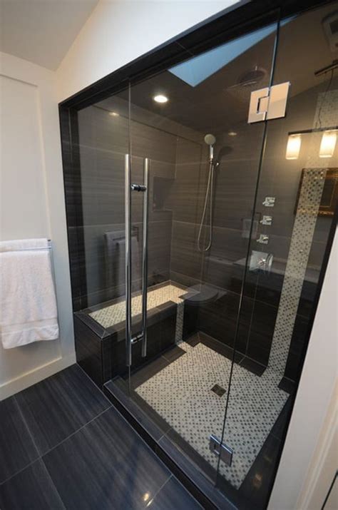 black tile bathroom 41 cool and eye catchy bathroom shower tile ideas digsdigs