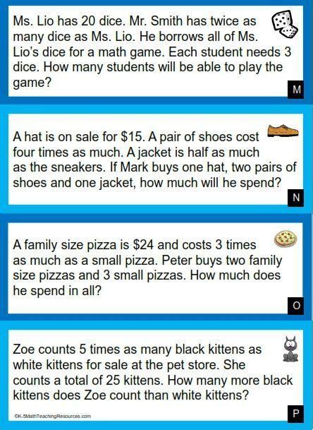 grade number word problem worksheets word problems