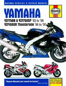 Yzf1000r Thunderace Workshop Manual - Man027 - Manuals And Parts Books - Parts By Type