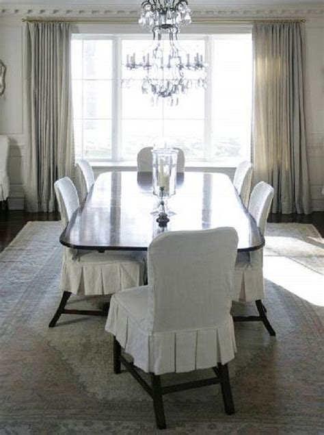 White Dining Room Chairs by 13 Best Images About Dining Chair Slipcover On