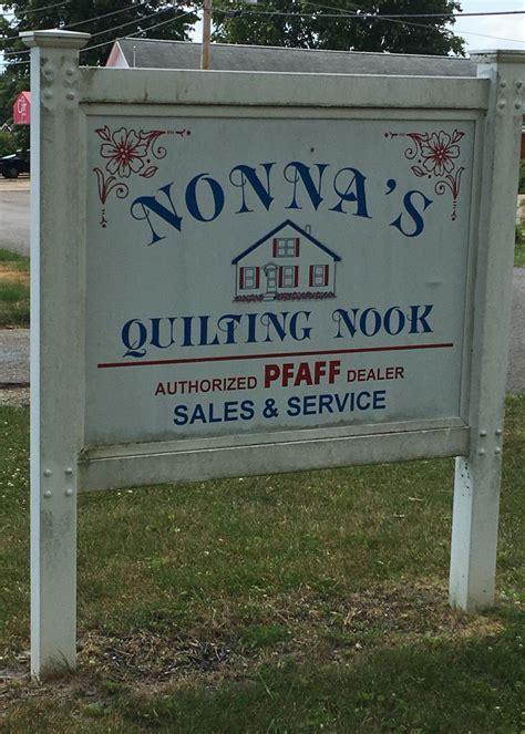nonnas quilting nook zanesville  visited