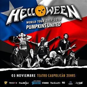 Helloween regresa a Chile con su gira Pumpkins United ...