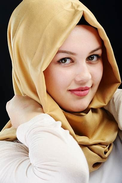 beautiful women wearing  hijab pictures images  stock
