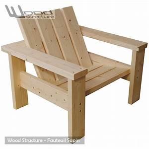 Fauteuil Bois Exterieur : fauteuil exterieur bois ~ Melissatoandfro.com Idées de Décoration