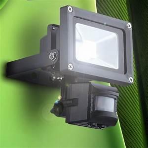 Lampe Exterieur Detecteur De Mouvement : lampe ext rieur del 10w clairage d tecteur de mouvement ~ Dallasstarsshop.com Idées de Décoration