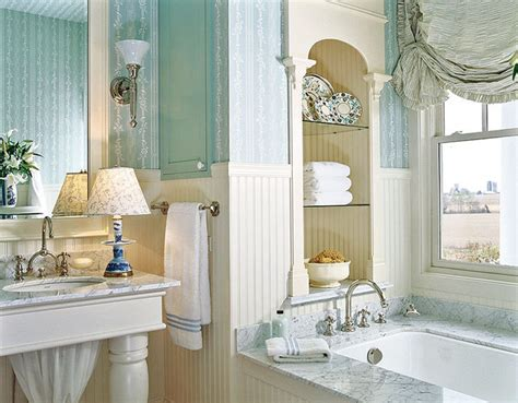 Wallpaper Bathroom Ideas Wallpapers In A Bathroom Shelterness