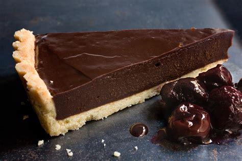 chocolate ganache tart chowhound