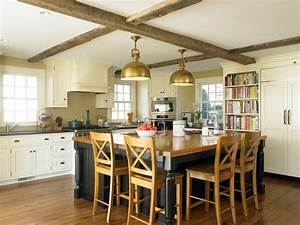 Antique colonial kitchen - Traditional - Kitchen - new