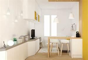 meuble pour petit appartement 3 petite surface With meuble pour studio petite surface