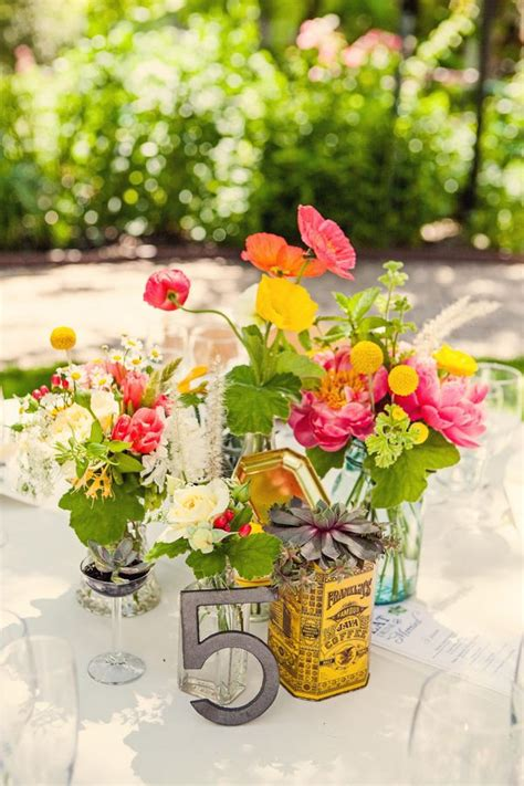 Flowers Healdsburg Healdsburg Garden Party Wedding Wedding Centerpieces