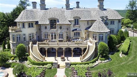 20,000 Square Foot French Inspired Mansion In Mahwah, NJ