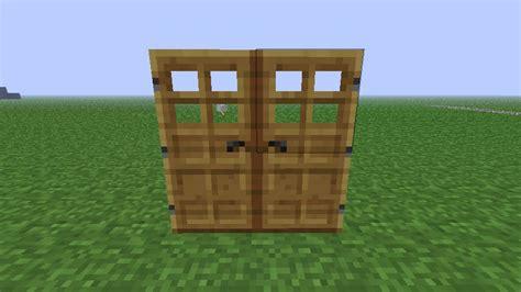 Duplicate Wooden Door Glitchbug Minecraft Project