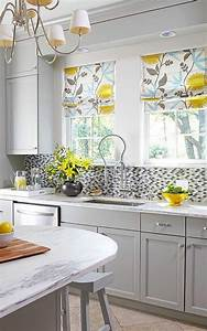 Yellow, Kitchens, Design, 2019, Yellow, And, Gray, Kitchen, Ideas, You, Can, Try, This, Spring