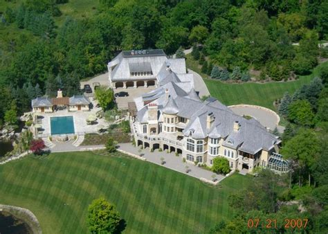 square foot european inspired mega mansion  rochester hills michigan homes   rich