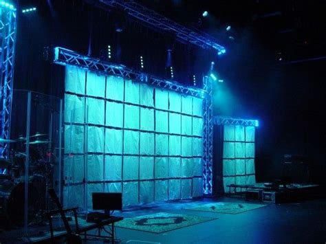 shower curtain church stage design ideas display