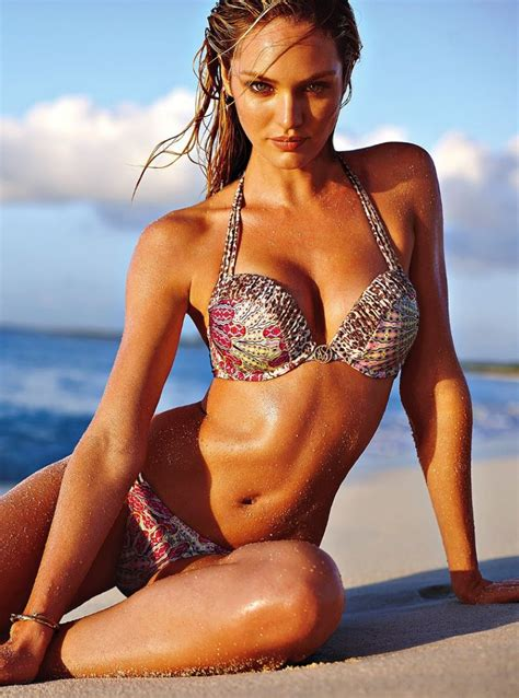 candice swanepoel bikini  beach bunny march