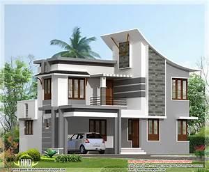 Modern 3 bedroom house in 1880 sq feet - Kerala home