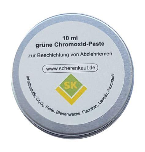polierpaste messer abziehen chromoxidpaste f 252 r das abziehen der messer