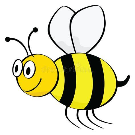 cartoon bee stock vector illustration  animal flee