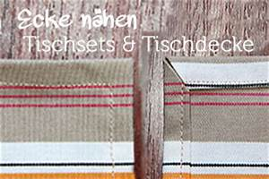 Tischdecke Selber Nähen Ecken : n hen kleidung taschen mehr viele n h anleitungen ~ Lizthompson.info Haus und Dekorationen