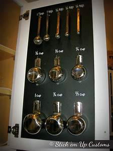 measuring cup spoon organization decal stickers inside With kitchen cabinets lowes with chalkboard sticker labels
