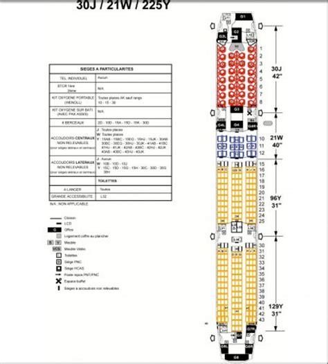 reservation siege jetair air la configuration du premier boeing 787 9