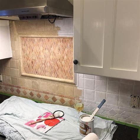 painting kitchen backsplash ideas how to paint kitchen tiles tile design ideas