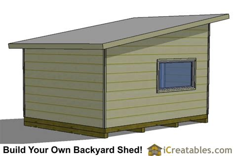 16x12 Shed Material List by 16x12 Modern Studio Shed Plans