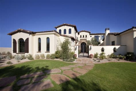 custom country house plans santa barbara style home