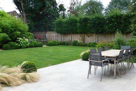 Modern Family Garden  Contemporary  Patio  London By