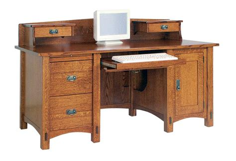 solid wood small corner desk amish solid wood computer desks made in america