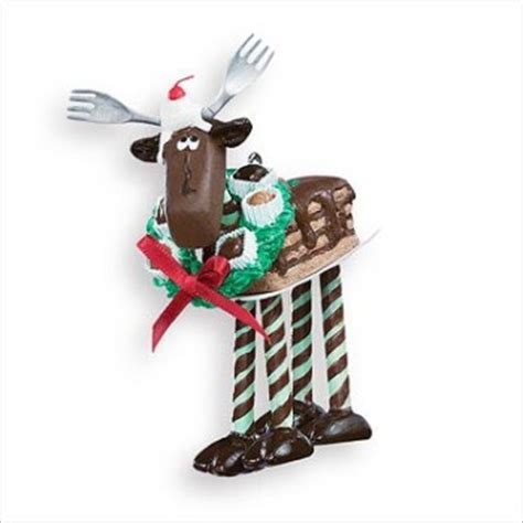 2007 Chocolate Moose Hallmark Christmas Ornament At Hooked