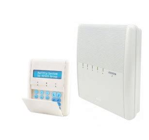 risco agility 3 risco agility 3 panel with keypad pro safety systems