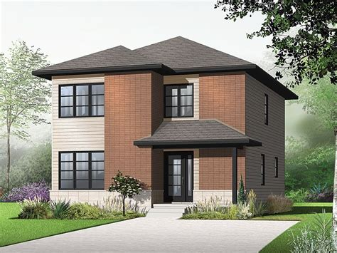 Simple Two Story Houses Placement by Plan 027h 0279 Find Unique House Plans Home Plans And