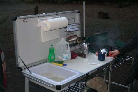 cing kitchen ideas portable cing kitchen with sink portable cing kitchen
