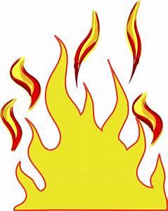 Flames Clip Art at Clker.com - vector clip art online ...