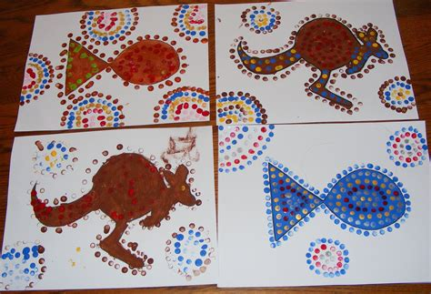 aboriginal art activities for preschoolers ten and a sunday lessons aboriginal dot 248